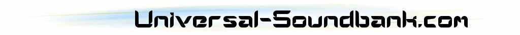 Universal Soundbank (Samples gratuits)